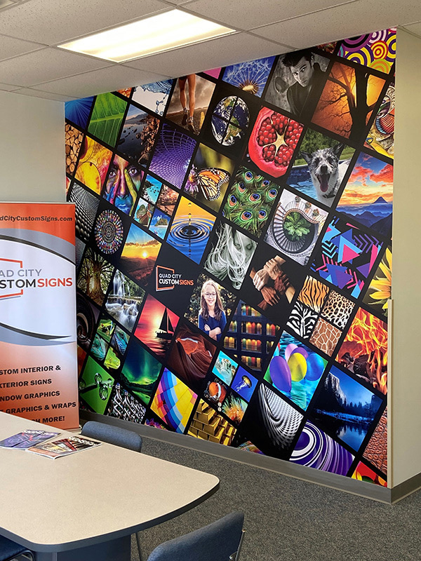 Custom Wall Mural offered by Quad City Custom Signs in Davenport