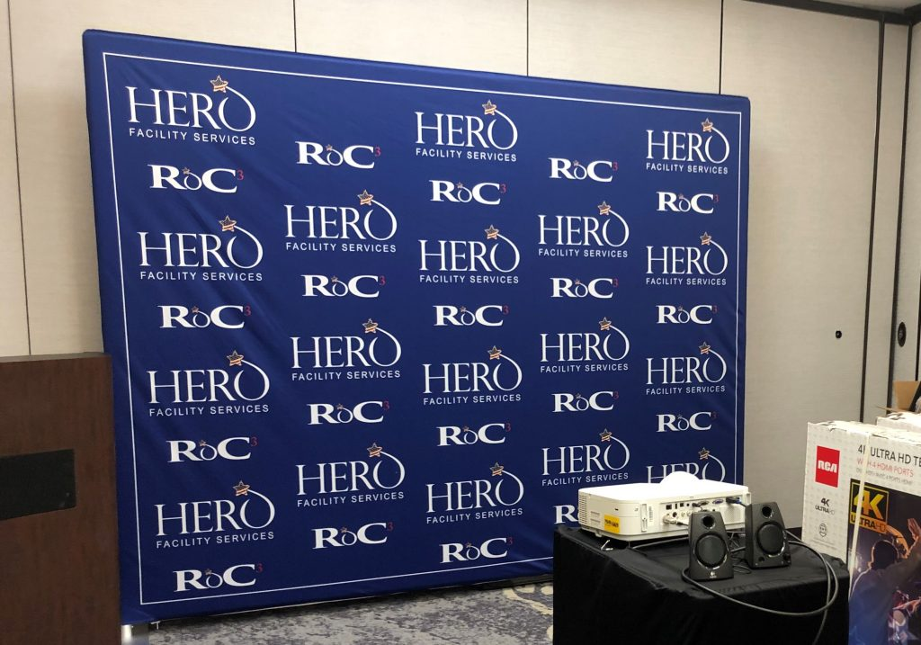 Promotion Banner for Hero Facility Services in Davenport, IA