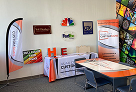 Quad City Custom Signs is a leading Trade Show Displays Provider in all Over the Davenport